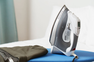 Black+Decker corded steam iron in bedroom | by yourbestdigs