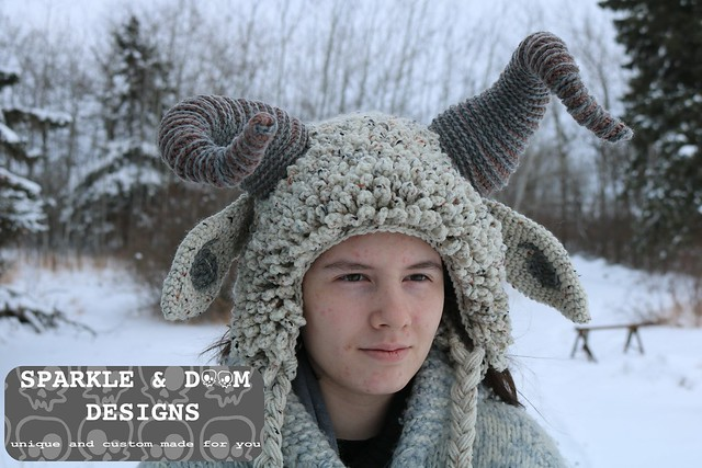 HAT Krampus flecked d
