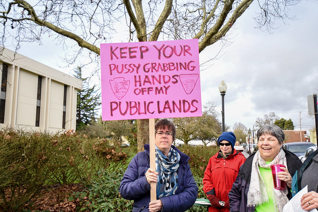 Albany, Oregon Women's March