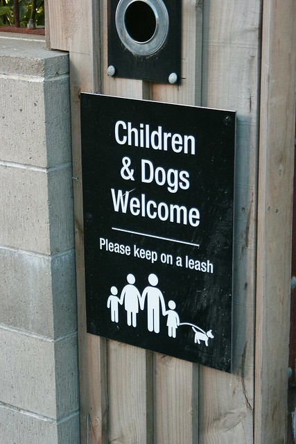 Yes, ALL children should be kept on a leash!