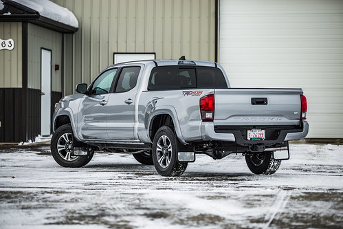 Silver Tacoma | by truckhardware