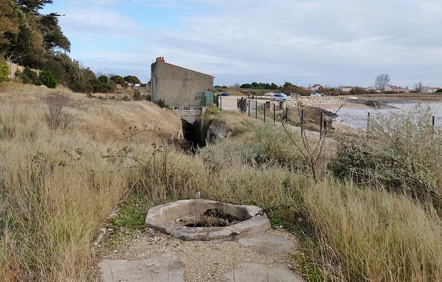 Saint Jean des Sables, Angoulins sur mer, vestiges seconde guerre mondiale