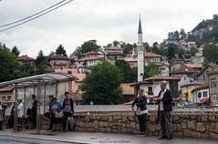 Busstop Sarajevo   Bosnia