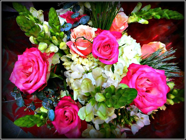 Bouquet of Flowers .