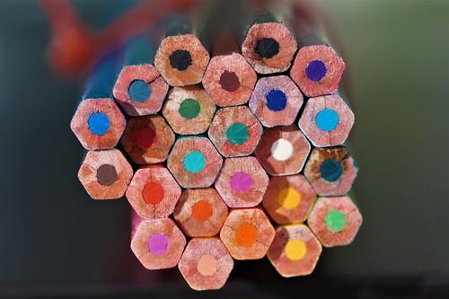 Rainbow Honeycombs | by Bastian_Schmidt