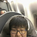 Yours Truly on board United 882, Tokyo Narita by InSapphoWeTrust