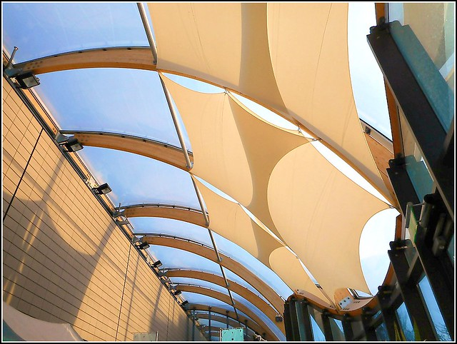 Modern Glass Roof ..( see also previous photo )