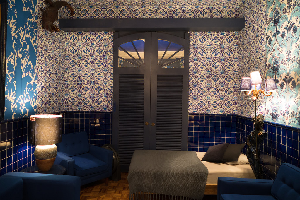 Hotel Casa Awolly Blue Room Nan Palmero Flickr