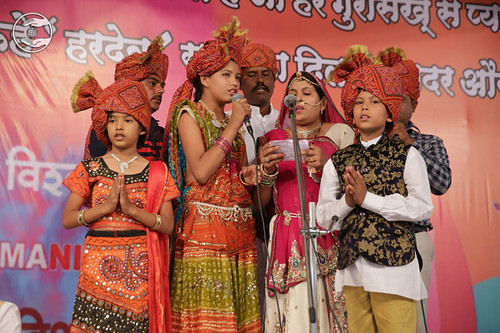 Devotional song by Pushpa Saini and Saathi from Jalgaon