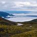 Looking back at Lake Te Anau
