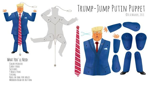Trump-Jump Putin Puppet EXPLODED Diagram (Explored--Thanks everyone!)