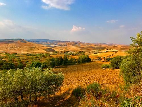 landscape paysage sicilia sicile été summer