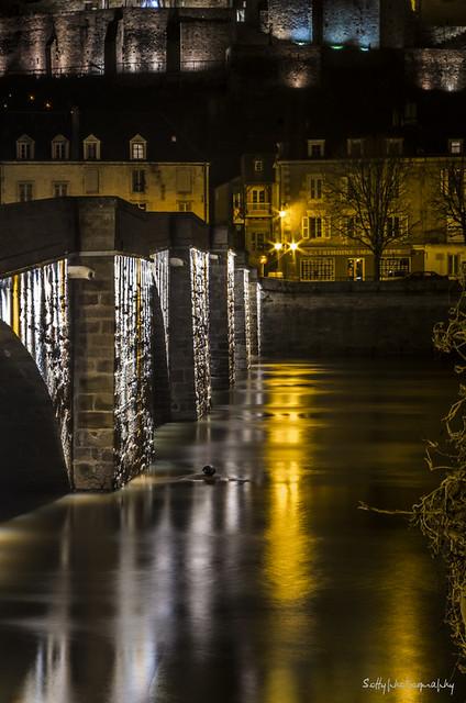 Pont lumineux