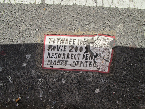New Toynbee Tile 5th Ave and 43rd St 2018 NYC 6079