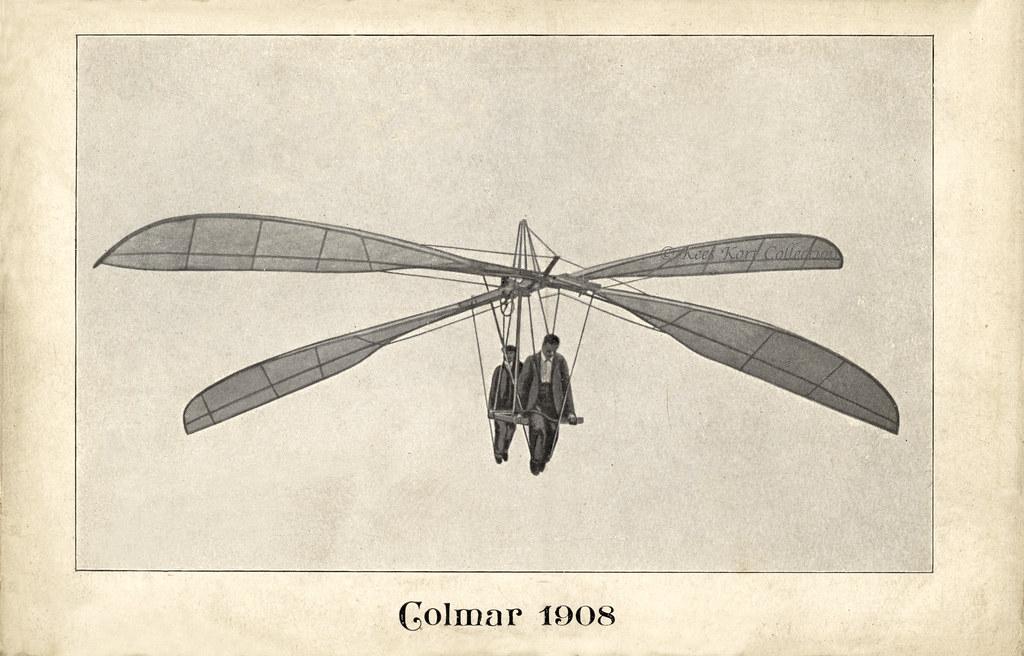 The 1908 1909 Schwingenflieger Ornithopter Of J J Bour Flickr