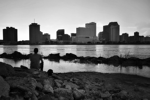 new orleans nola louisiana sony rx100 mississippi river bw monochrome algierspoint blackandwhite