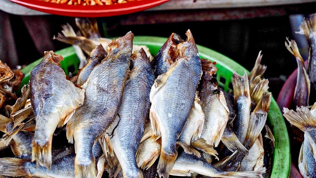 Fish market ..Vietnam