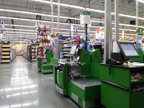 walmart neighborhood market supermarket grocery store selfcheckout portcharlotte fl florida