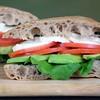 Tomato, Mozzarella and Avocado Sandwich by ingallinas