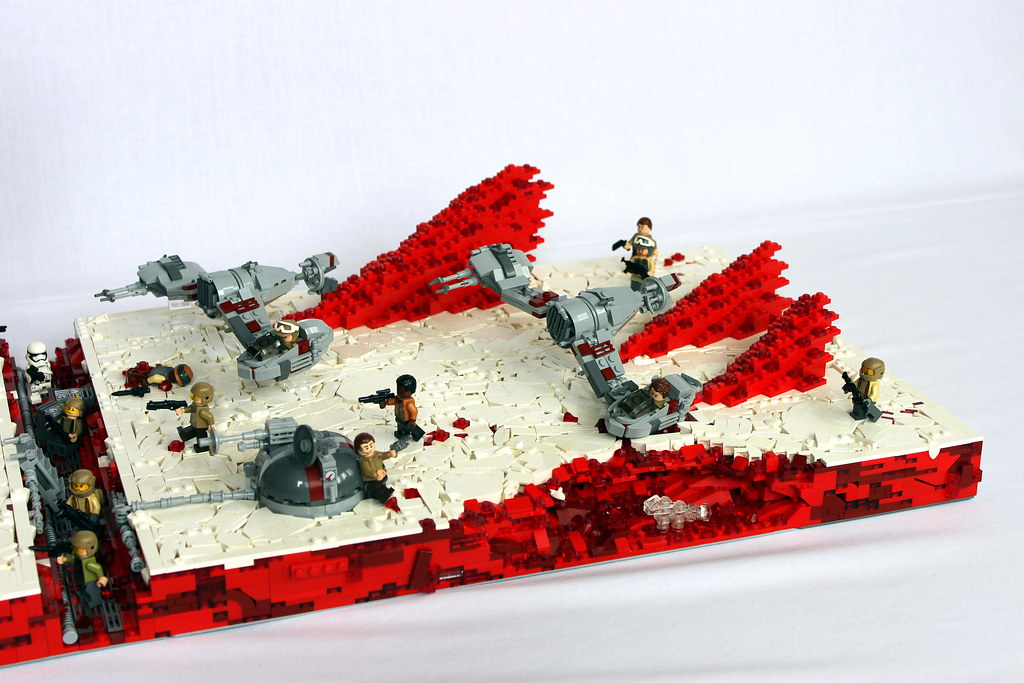 668df4ecbd40 ... ~LEGO Star Wars Battlefront 2 Battle Of Crait from The Last Jedi~ | by