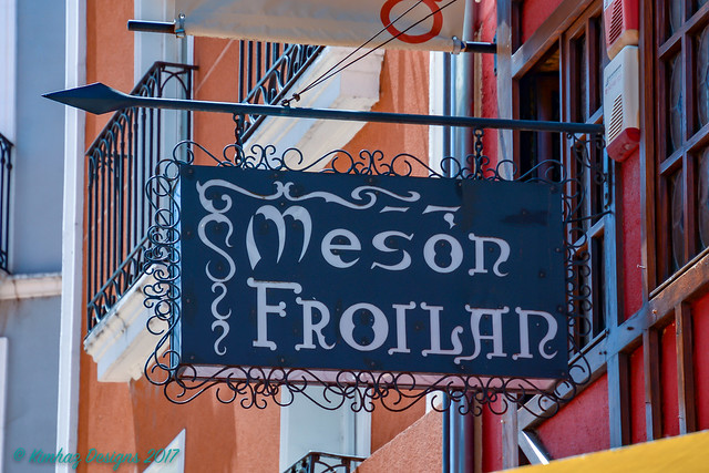 Burgos - Mesón Froilán Restaurant Sign (Explored)