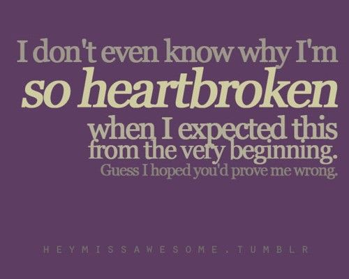 Sad Love Quotes I Always Said It Would End Like It Did A Flickr