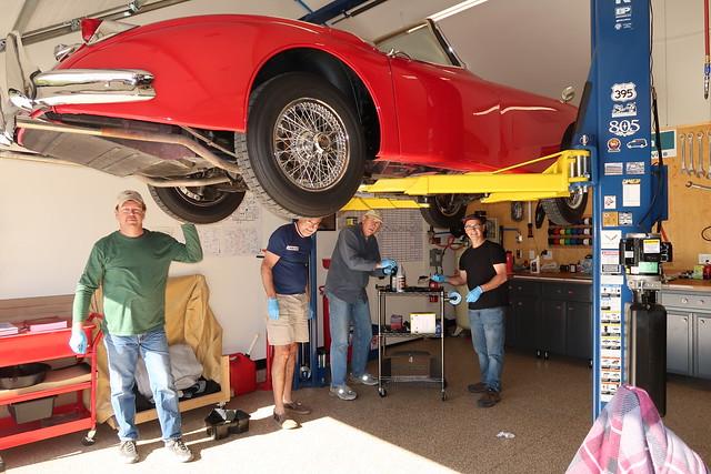 1-Reid 1958 Jaguar XK150