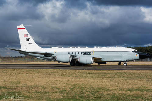 64-14846 / OF RC-135V 38th RS / 55th Wg - Offutt AFB, NB | by Ashley Wallace Photography