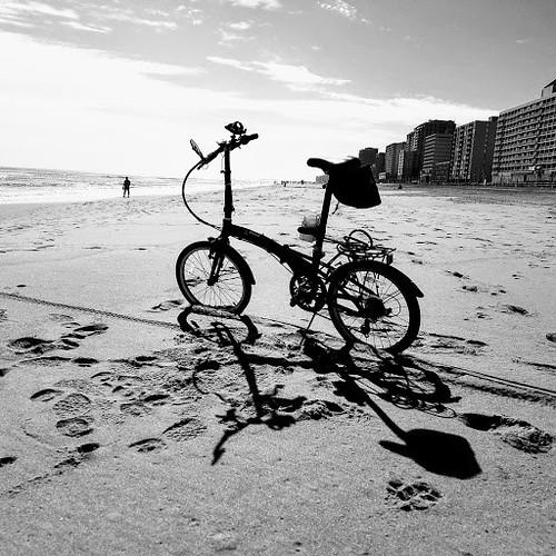 biking Virginia Beach in Feb