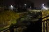 Leimbach bei Nacht - der Strom durch Wiesloch by adi-p