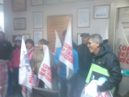 Entrega de Acuerdo Marco Ramal 2015 en Codelco División El Salvador