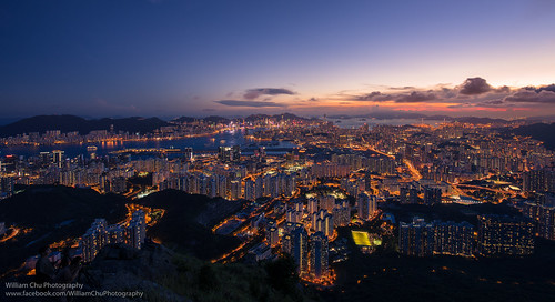 city longexposure sunset urban skyline hongkong cityscape dusk 香港 kowloon 日落 九龍 magichour hongkongisland victoriahabour victoriaharbour 飛鵝山 kowloonpeninsula feingoshan