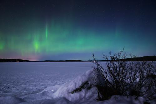 northernlights auroras nature finland suomi jyväskylä ruokosaari snow lake ice freezing clouds winter nikon d3100 nikkor lens 1755mm f28 nikonphotography amazing wind lights shadow outdoor horizon stars night sky view landscape