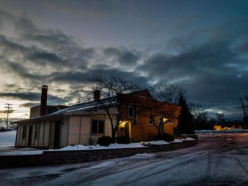 landscape sunrise westlake ohio unitedstates us