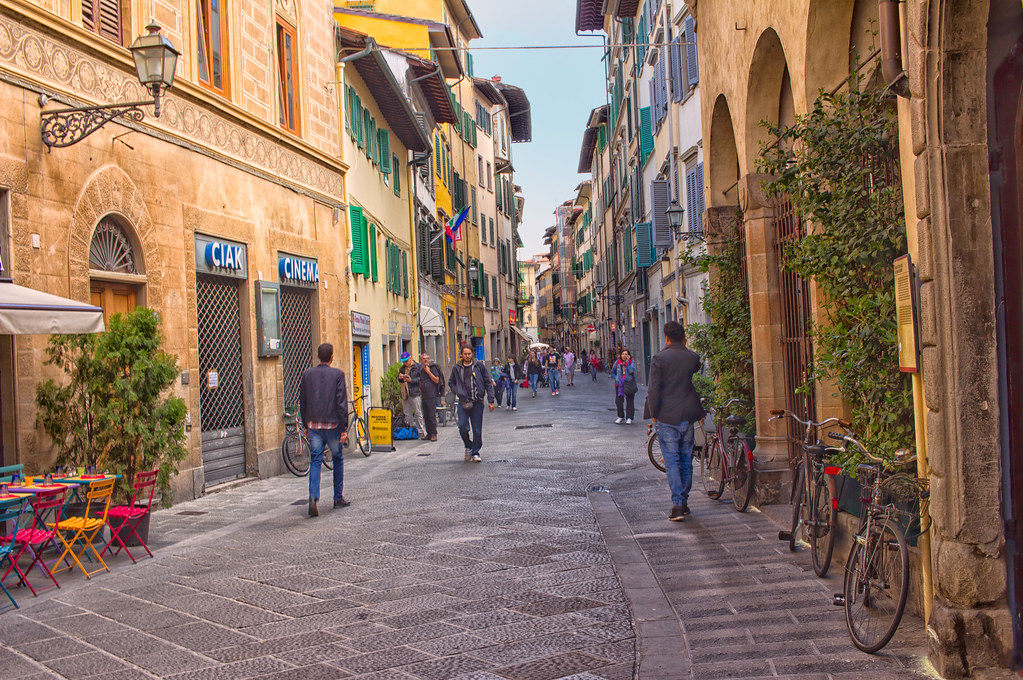 Florence wine windows, Monastery Stays