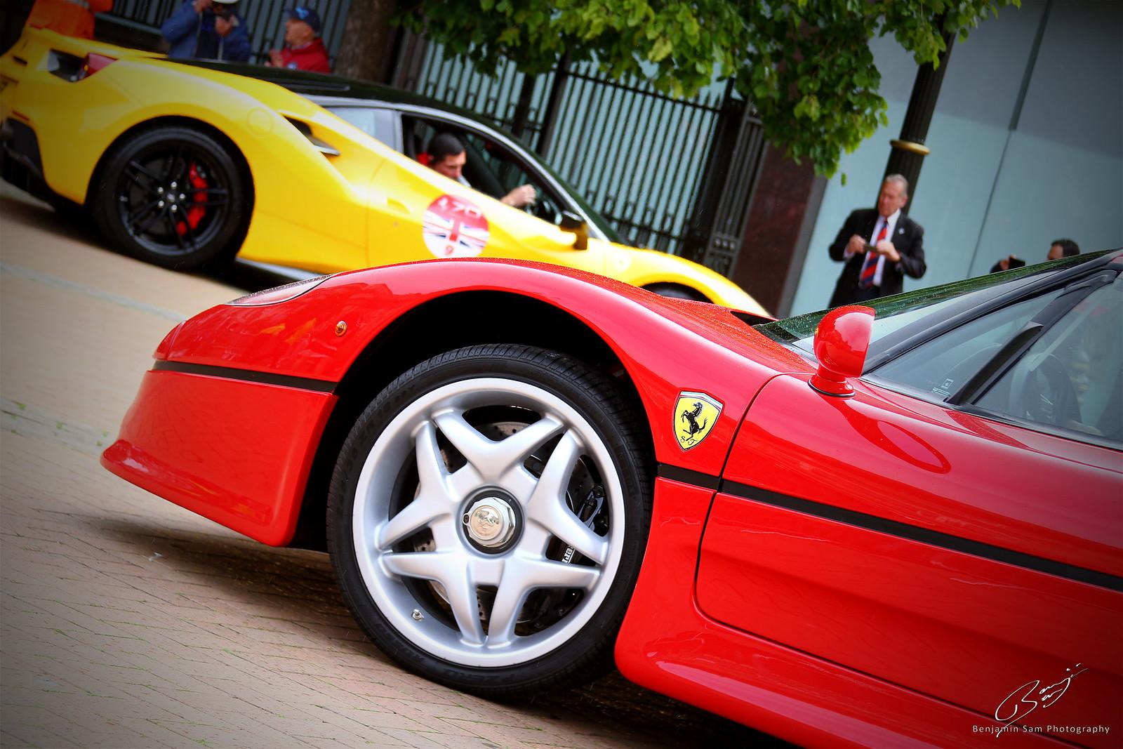 Ferrari F50 & F488