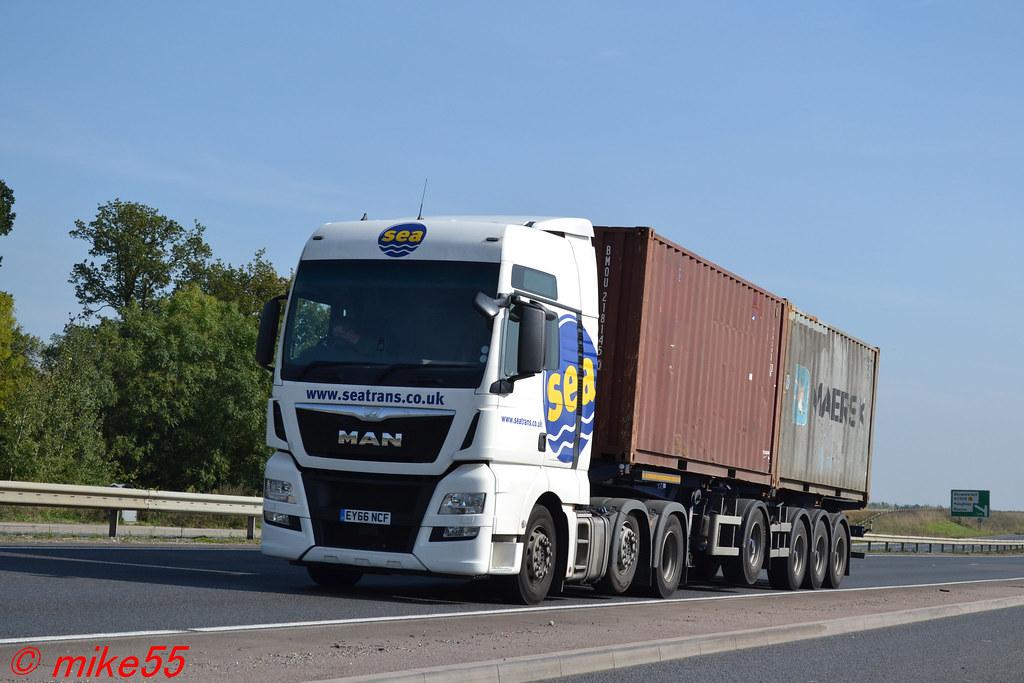 MAN TGX 'Sea Transport Ltd' reg EY66 NCF   A14   Mike S   Flickr