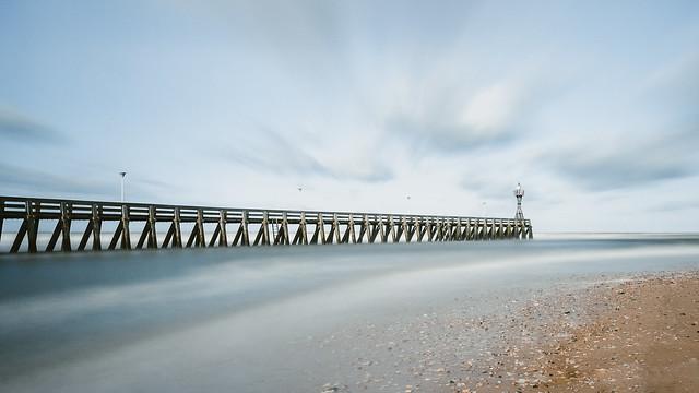 Courseulles-sur-mer jetty
