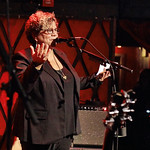 Tue, 05/12/2017 - 6:03am - Brandi Carlile and her band (the twins, plus drums and strings) play for lucky WFUV Marquee Members at Rockwood Music Hall in New York City, 12/5/18. Hosted by Rita Houston. Photo by Gus Philippas/WFUV.