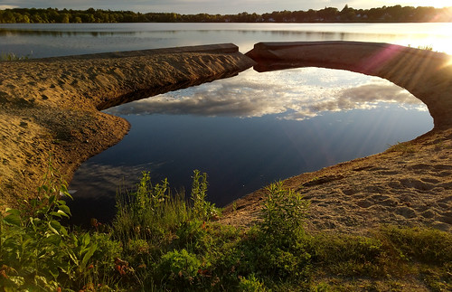 lakequannapowitt wakefield massachusetts dawn morning sunrise lake park walk 2017 unitedstates us
