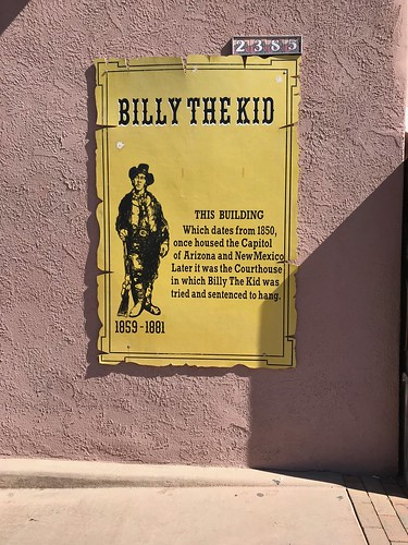 Las Cruces - La Mesilla Billy the kid poster | by Pierre Yeremian