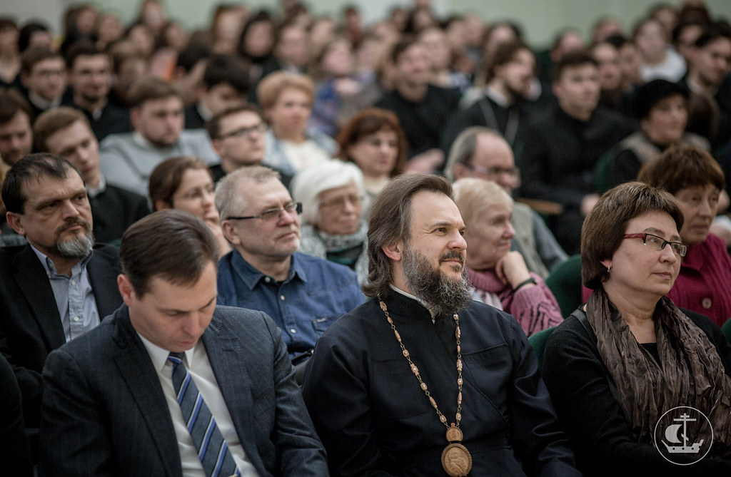 6 марта 2018, Писатель Е.Водолазкин в Академии / 6 March 2018, The writer E.Vodolazkin in the Saint-Petersburg Theological Academy