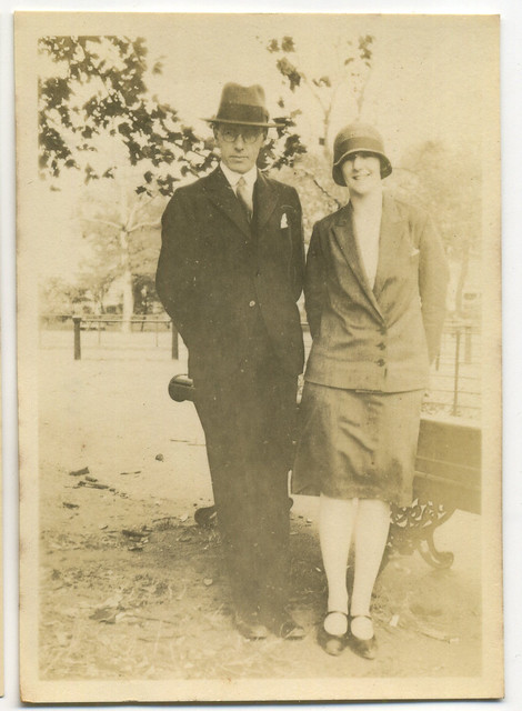 My grandmother and unknown companion