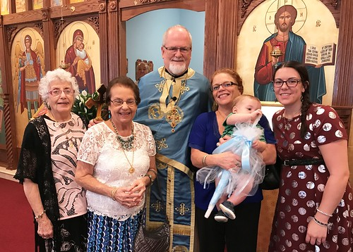 Nora, Leila, Father, Nicole, Sarah and Roman 1 | by Holy Spirit Orthodox Church