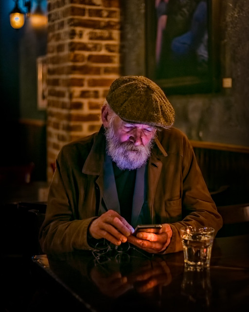 Even the elders enjoy digital crack