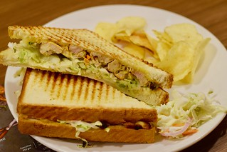 chicken coleslaw sandwich | by cookieforthought