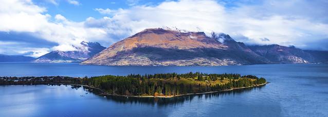 View of Lake Wakatipu- Queenstown, New Zealand