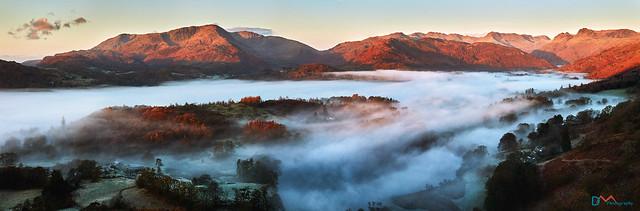 Langdale Valley Mists