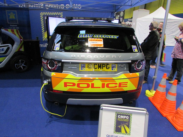 West Midlands Police Land Rover Discovery Sport