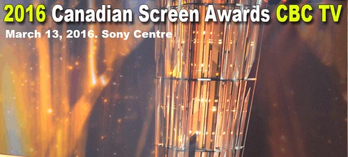 The 2016 CANADIAN SCREEN AWARDS | by imagelibrary.ca